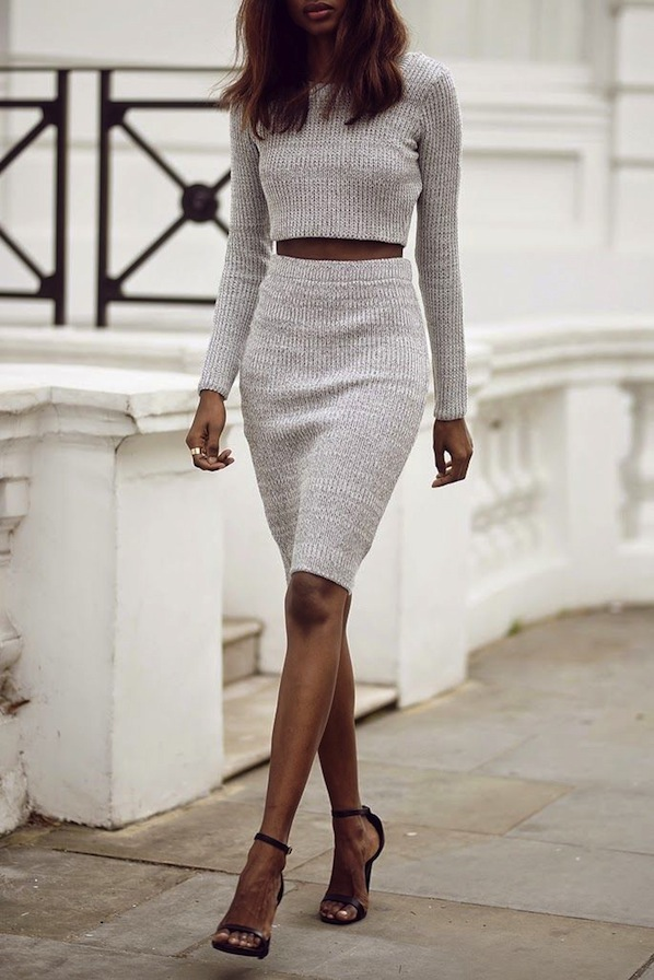 inspo crop top and skirt sevenautumnleavesblog